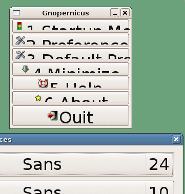 Unreadable GUI